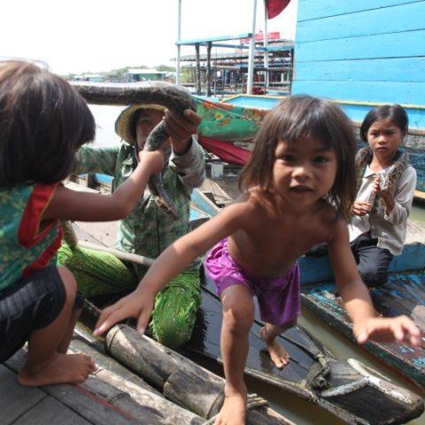 Na jeziorze  Tonle Sap, fot. Beata Pawlikowska