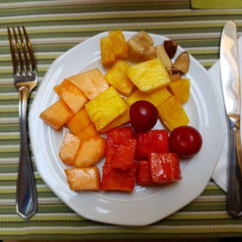 tropikalne śniadanie, fot. Beata Pawlikowska