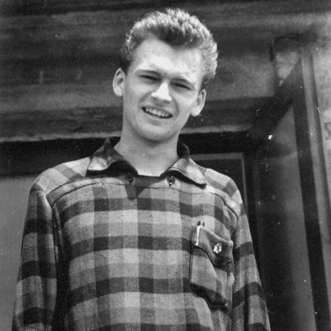 Mój tata w wieku 17 lat