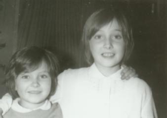 Z siostrą, fot. Adam Pawlikowski