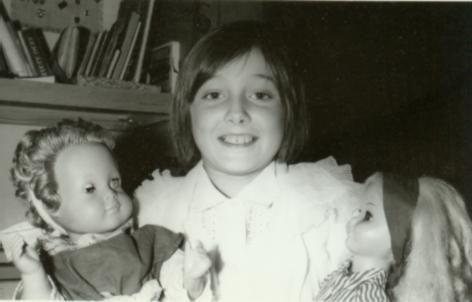 Z ulubionymi lalkami, fot. Adam Pawlikowski