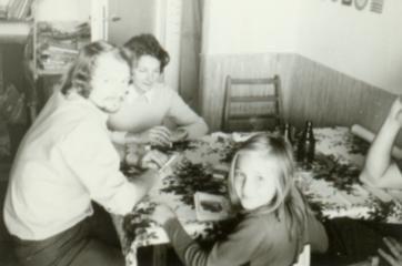 Z rodzicami przy stole