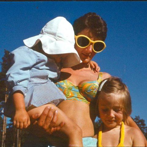 Z mamą i siostrą, fot. Adam Pawlikowski