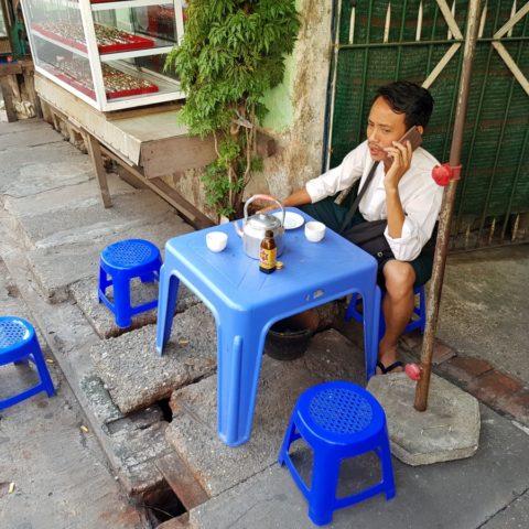 Popołudniowa przerwa na herbatę, fot. Beata Pawlikowska