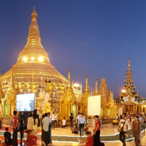 Pagoda Shwedagon w Rangunie, fot. Beata Pawlikowska