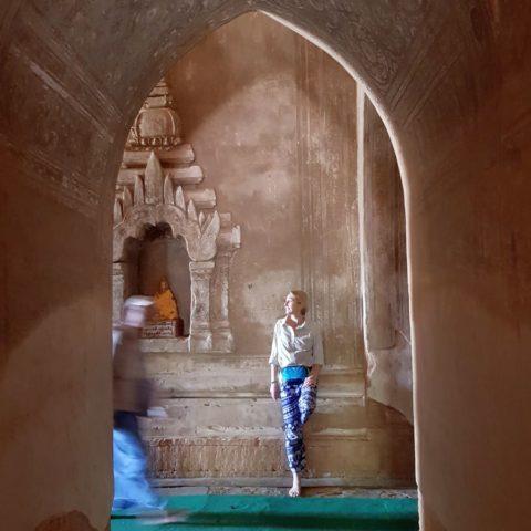 W świątyni,  fot. Beata Pawlikowska