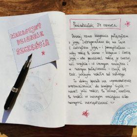Wakacyjny dziennik szczęścia - poniedziałek, 24 czerwca