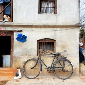 Poranek w Nepalu