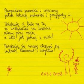 Sierpniowe poranki i wieczory :) #żółtakartka