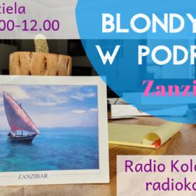045 Blondynka na Zanzibarze