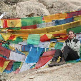 052 Blondynka w Tybecie