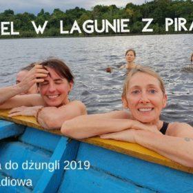 Kąpiel w lagunie z piraniami - relacja radiowa