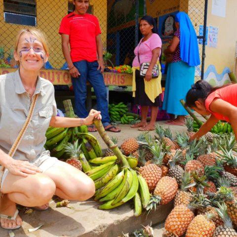 Na targowisku w brazylijskiej wiosce