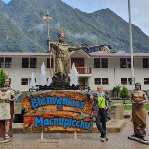Posąg najsłynniejszego władcy Inków, który nazywał się Pachacutek. Fot. Beata Pawlikowska