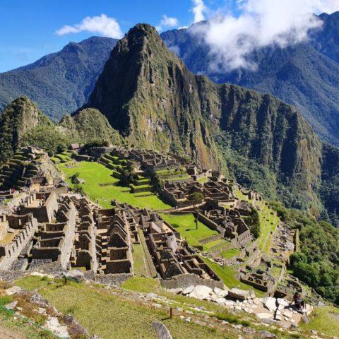 Machu Picchu (2430 m n.p.m.). Fot. Beata Pawlikowska
