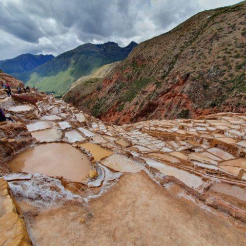 Kopalnia soli założona przez Inków, działająca do dzisiaj. Fot. Beata Pawlikowska