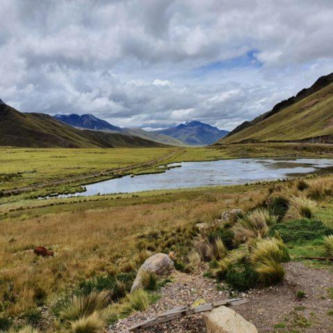 Pejzaż andyjskiego płaskowyżu w Peru. Fot. Beata Pawlikowska