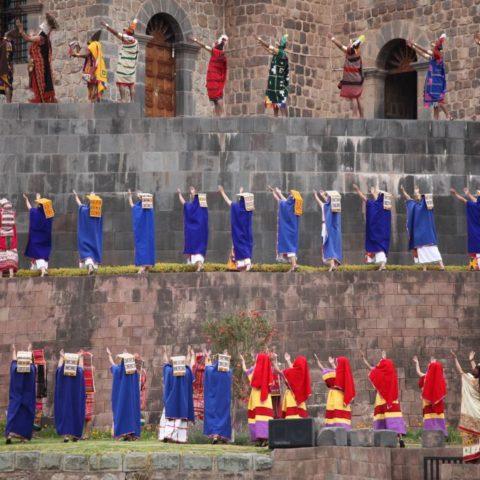 Podczas festiwalu Inti Raymi w Cuzco. Fot. Beata Pawlikowska