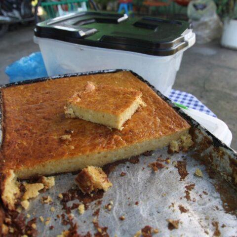 """Narodowe danie Paragwaju – sopa paraguaya, dosłownie """"zupa paragwajska"""", która wcale nie jest zupa, tylko ciastem z kukurydzy."""