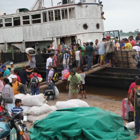 Koniec trasy – w porcie w Bahia Negra.