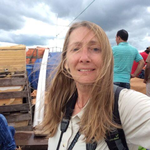 Selfie na łodzi.