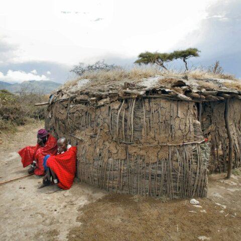 Dom Masajów na sawannie, Kenia