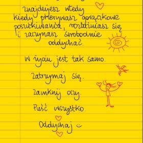 Puść wszystko #żółtakartka