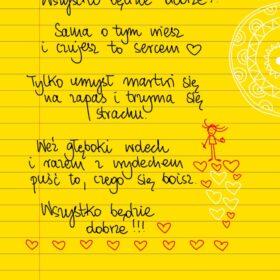 Wszystko będzie dobrze 😊 #żółtakartka