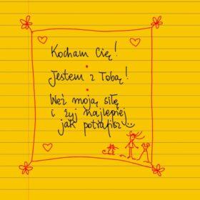 Kocham Cię. Jestem z Tobą :) #żółtakartka