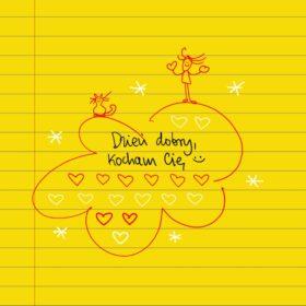 Dzień dobry,  kocham Cię ❤ #żółtakartka