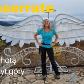 Monserrate -piechotą na szczyt góry